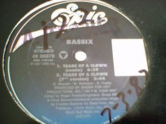 Bassix - Tears Of A Clown / Fake 'N' Move